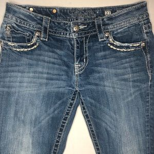 Miss Me Relaxed Boot Cut Jeans